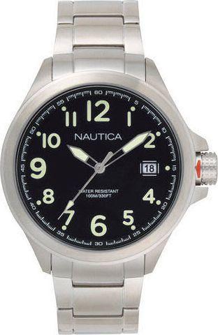 Zegarek Nautica Glen Park NAPGLP005 męski srebrny