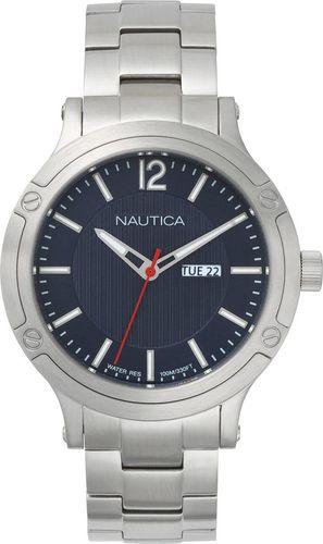 Zegarek Nautica Porthole NAPPRH019 męski srebrny