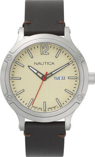 Zegarek Nautica Porthole NAPPRH015 męski brązowy