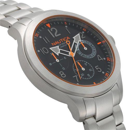 Zegarek Nautica Norland NAPNRL004 męski srebrny