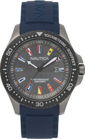 Zegarek Nautica Jones Beach NAPJBC008 męski granatowy