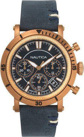 Zegarek Nautica Fairmont NAPFMT004 męski granatowy