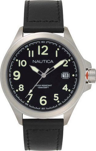 Zegarek Nautica Glen Park NAPGLP001 męski czarny