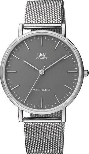 Zegarek Q&Q QA20-232 Fasion Mesh Unisex srebrny
