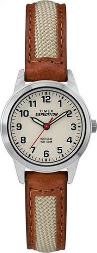 Zegarek Timex TW4B11900 Metal Field Mini damski brązowy