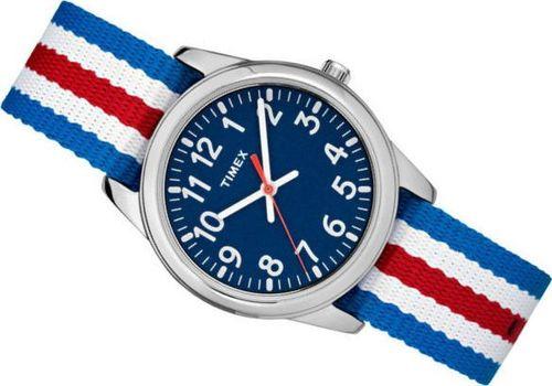 Zegarek Timex Zegarek Timex TW7C09900 Youth Analog Metal uniwersalny
