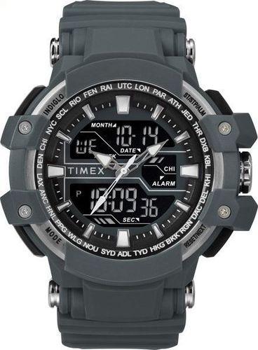 Zegarek Timex Combo TW5M22600 Tactic DGTL męski szary