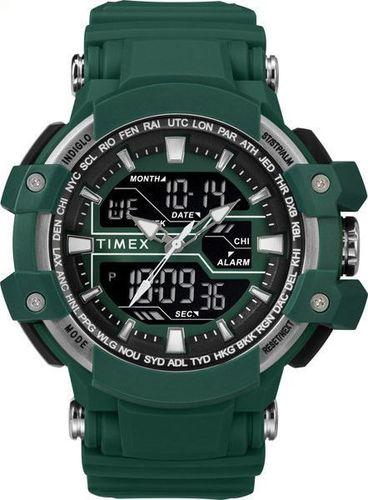 Zegarek Timex Combo TW5M22800 Tactic DGTL męski zielony