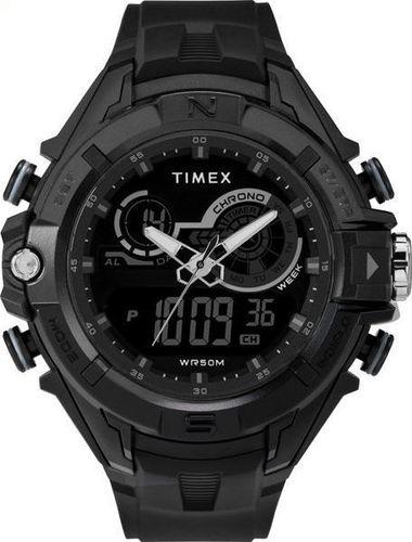 Zegarek Timex Combo TW5M23300 The Guard DGTL męski czarny