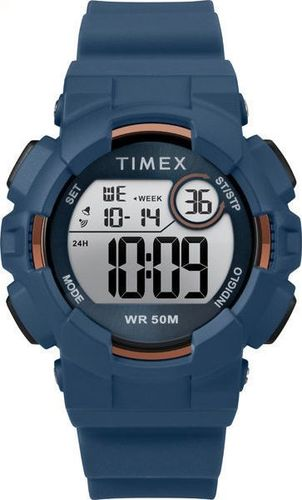 Zegarek Timex TW5M23500 Mako DGTL unisex niebieski