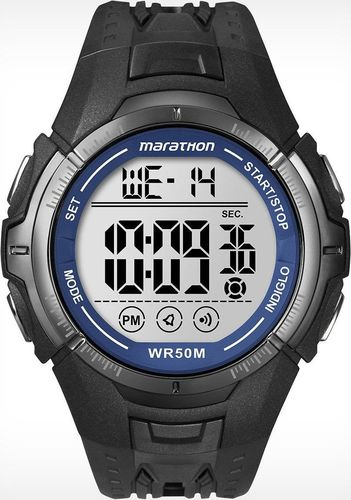 Zegarek Timex T5K359 Marathon Digital męski czarny