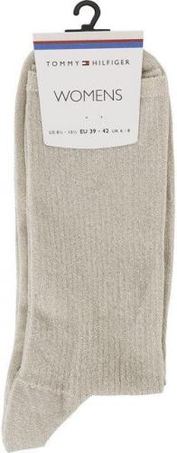 Tommy Hilfiger Skarpety damskie Holiday Runway Sock 1500 beżowe r. 39-42 (473001001-500)
