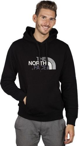 The North Face Bluza męska Drew Peak Plv Hood KX7 czarna r. L (T0AHJYKX7)