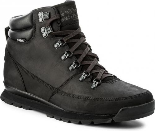 The North Face Buty Męskie Back-To-Berkely LTHR KX8 Czarne r.46 (T0CDL0KX8)