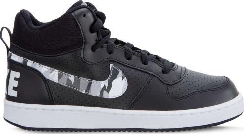 Nike Buty damskie Court Borough Mid GS 008 czarne r. 38 (839977-008)