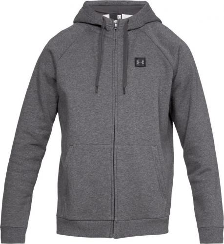 Under Armour Bluza męska Rival Fleece Fz Hoodie szara r. M (1320737-020)
