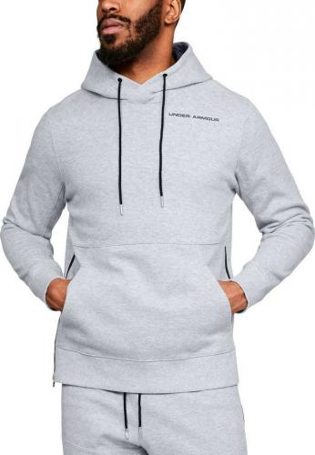 Under Armour Bluza męska Pursuit Microthread Pullover Hoodie  szara r. M (1317416-035)