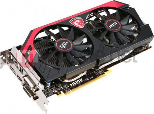 Karta graficzna MSI GeForce GTX 760 2GB DDR5 (256 Bit), HDMI, DVI (N760 TF 2GD5/OC)