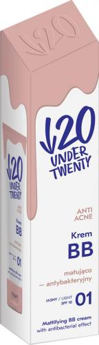 Under Twenty Krem BB Anti Acne 01 Jasny 60ml