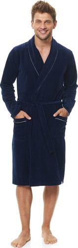 DN Nightwear Vyriškas chalatas DN-Nightwear SMS.6063