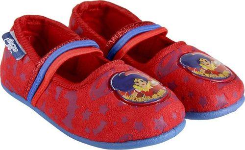 CERDA Pantofle dziecięce Wonder Woman czerwone r. 32