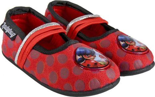 CERDA Pantofle dziecięce Ladybug czerwone r. 28