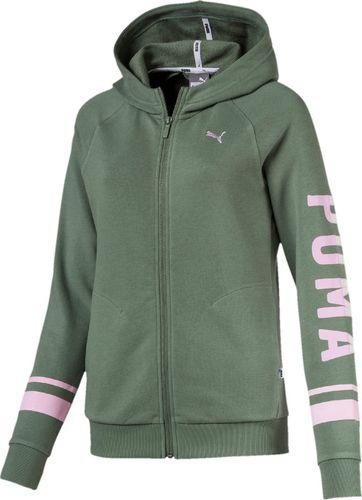 Puma Bluza damska Athletic FZ TR Laurel Wreath zielona r. XL