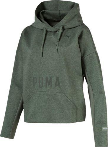 Puma Bluza damska Fusion Laurel Wreath zielona r. L