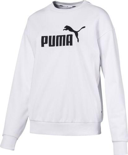Puma Bluza damska ESS Logo Crew biała r. L