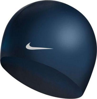 Nike czepek Solid Silicone midnight navy