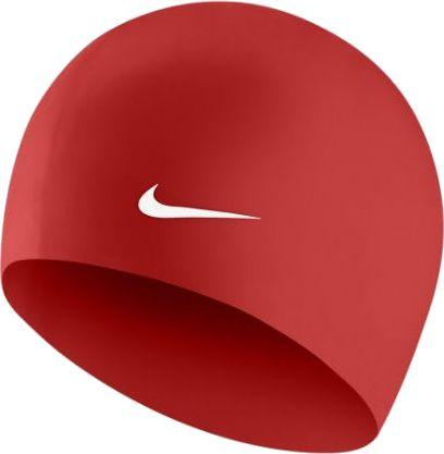 Nike czepek Solid Silicone univeristy red