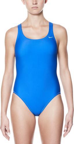 Nike Strój kąpielowy Poly Solid game royal r. 38 (TESS0050)