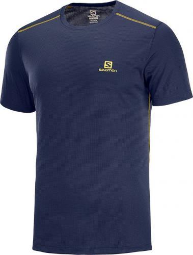 Salomon Koszulka męska Stroll SS Tee Night Sky r. 2XL (LC1056000)