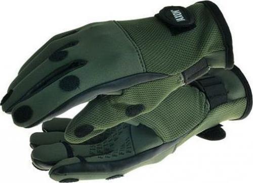 Jaxon Rękawice wędkarskie zielone r. XL (AJ-RE105XL)