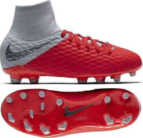 Nike Buty męskie JR Hypervenom Phantom 3 Academy DF FG czerwpne r. 36 1/2 (AH7287 600)