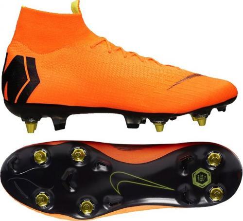 Nike Buty piłkarskie Mercurial Superfly 6 Elite SG PRO AC pomarańczowe r. 40 1/2 (AH7366 810)