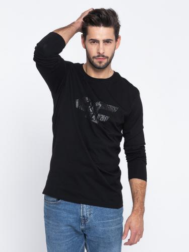 4f Koszulka męska H4L19-TSML002 czarna r. XL