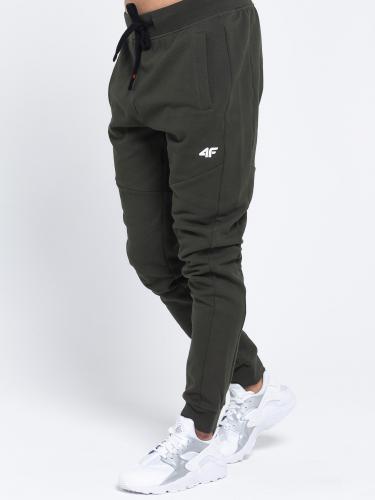 4f Spodnie męskie H4L19-SPMD002 khaki melanż r. L