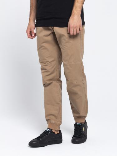 4f Spodnie męskie H4L19-SPMT001 brązowe r. L