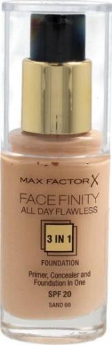 MAX FACTOR Podkład do twarzy Facefinity 3w1 nr 60 - 30ml