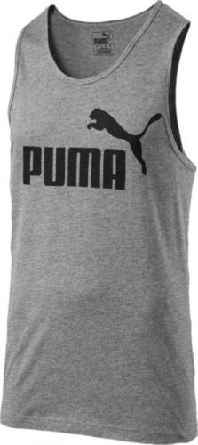 Puma Koszulka męska ESS No.1 szaro-czarna r. XL