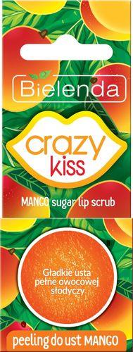 Bielenda Bielenda Crazy Kiss Peeling do ust Mango  15g