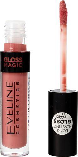 Eveline Eveline Gloss Magic Lip Lacquer Lakier do ust nr 11 Satin Nude  4.5ml