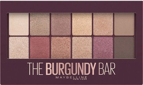 Maybelline  Paleta cieni do powiek The Burgundy Bar 9.6g