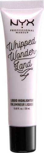 NYX NYX_Professional Makeup Whipped Wonderland Liquid Highlighter rozświetlacz w płynie do twarzy LH001 Flight Of The Fairy20ml