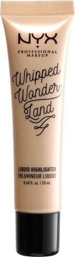 NYX NYX_Professional Makeup Whipped Wonderland Liquid Highlighter rozświetlacz w płynie do twarzy LH002 Dazzler 20ml