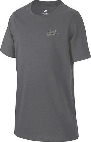 Nike Koszulka dziecięca Emb Futura Ya Junior szara r. M (882702-063)