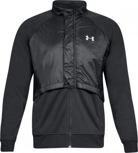 Under Armour Kurtka męska PICK UP THE PACE INSULATED JACKET czarna r. M (1317478-001)