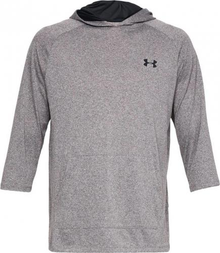 Under Armour Bluza męska Tech 3/4 Slv Hoodie 2.0 szara r. XXL (1328493-019)
