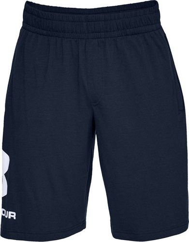 Under Armour SPORTSTYLE COTTON GRAPHIC SHORT-NVY 1329300-408-L
